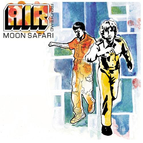 Air - Moon safari, cover hentet fra amazon.com