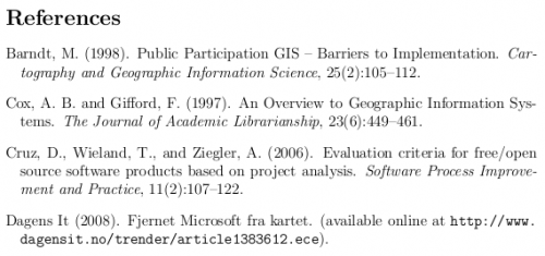 Bibliography Latex Refer With Letters