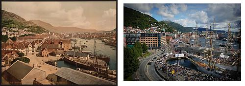 Bergen, før og nå